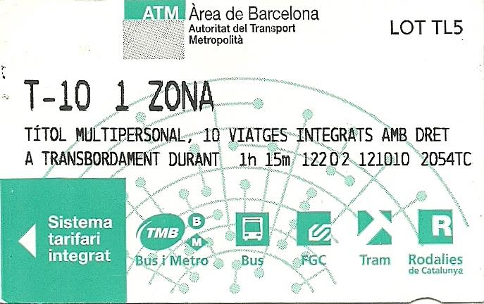 Barcelona: que siga la T-10