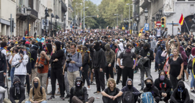 Declaración de la LIS ante la revuelta popular catalana