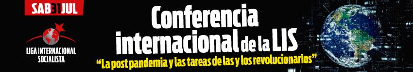 conferencia de la liga internacional socialista